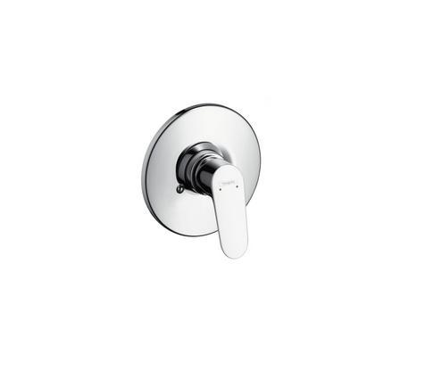 31967000 focus mezcladora monomando de ducha empotrado for Mezcladora de ducha